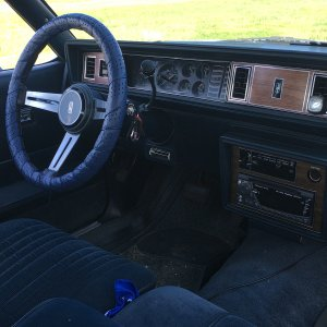 "1987 Cutlass Supreme ""Betty Rumble"" Interior"